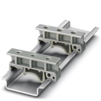 DIN Rail Mounts on Rail